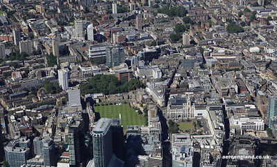 Finsbury London showing the Artillery Ground ,  Finsbury Square