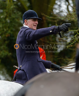 Robin Smith-Ryland at the meet at Buckminster