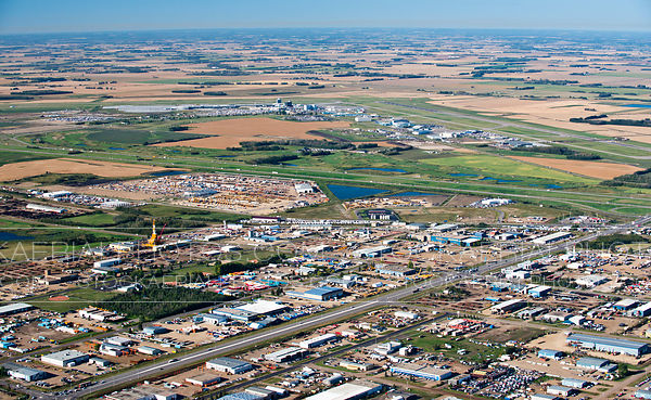 Leduc Alberta and Edmonton International Airport