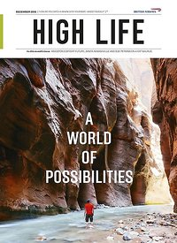 Cover High Life British Airways magazine