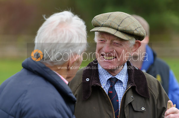 David Samworth at the meet - The Quorn Hunt at Markham House 21/12