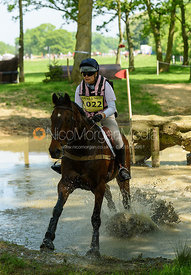 Emily Mustow and PRIME TIME II, Fairfax & Favor Rockingham Horse Trials 2018