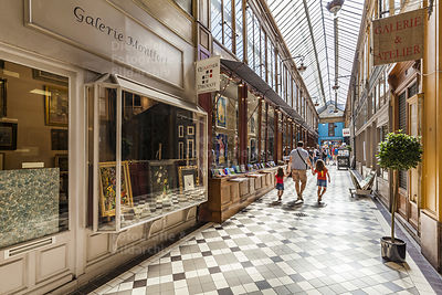 Passage Jouffroy, Ladenpassage, Paris