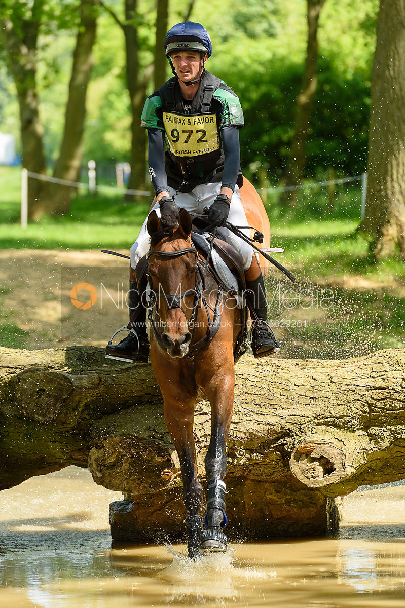 Tom Jackson and BILLY CUCKOO, Fairfax & Favor Rockingham Horse Trials 2018
