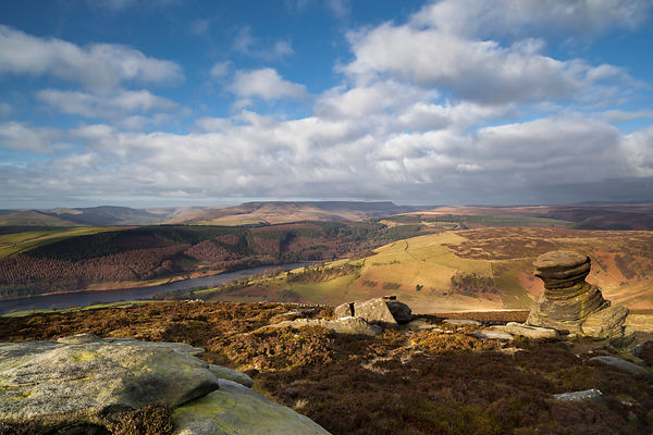 Salt cellar and Ladybower