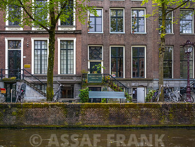 Building along the canal, Amsterdam
