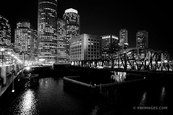 BOSTON BLACK AND WHITE