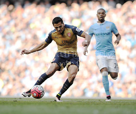 Manchester City v Arsenal, English Premier League, Sunday 8th May 2016