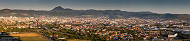 Panoramic view of Clermont Ferrand, Auvergne