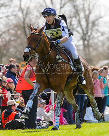 Ben Hobday and GUN A B GOOD - Cross Country - Mitsubishi Motors Badminton Horse Trials 2013.