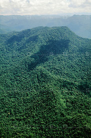 Sierra de Maigualida granitic mountain range in Guiana Highlands, Venezuela.