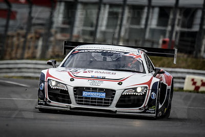 25 Mark Patterson / Matt Bell United Autosports Audi R8 LMS Ultra GT3