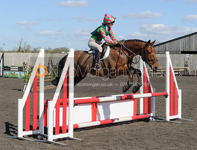 Class 3 - 80cm - Cottesmore Pony Club Eventer Trial 25/3/16