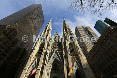 St Patrick's Cathedral (1878), Fifth Avenue,  New York City, USA