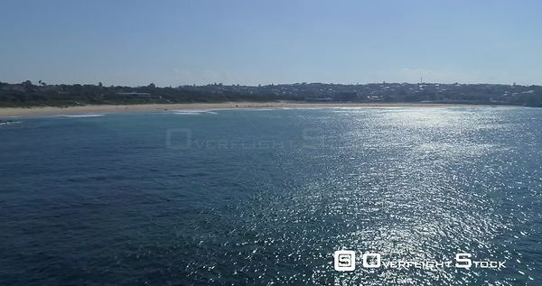 Maroubra Beach Sydney with a Static view of the Ocean. Australia
