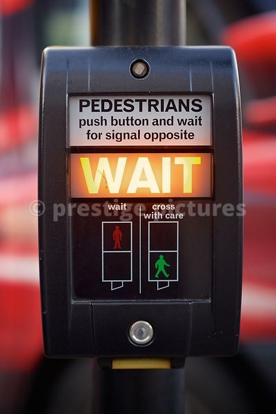 Pedestrian Light Controlled Crossing Box