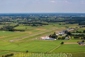 Teuge - Luchtfoto Vliegveld
