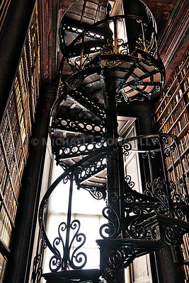 Trinity College Library Staircase- Dublin, Ireland