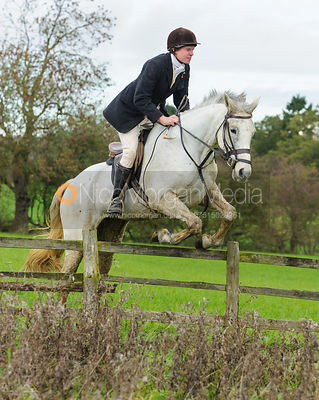 Marcus Collie - The Cottesmore Hunt at Tilton on the Hill, 9-11-13
