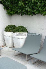 Fauteuil par Francesco Rota, Conception et réalisation :  James et William Hartley. English Garden Group