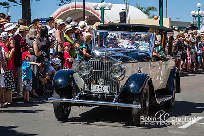 Art Deco Saturday 2012 - Vintage Car Parade.  License Plate = 1 PMC 1