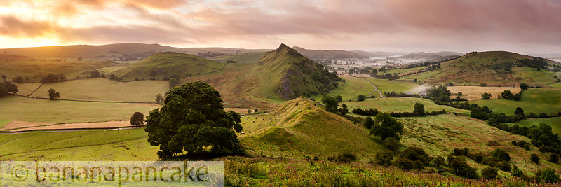Parkhouse Hill from Chrome Hill, Peak District National Park - BP3270