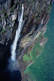 Angel Falls, world's tallest waterfall, southern Venezuela, South America.November 2005, BBC Planet Earth
