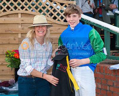 Prize Giving - Pony Racing - Meynell and South Staffs Point to Point 2014
