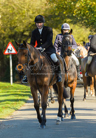 William Bevin at the meet at Ingarsby Hall 27/10