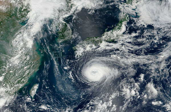 Super Typhoon Noru threatens Japan, Korea and China