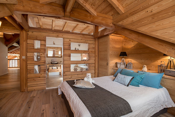 Chalet Lombard Vasina - Décoratrice Isabelle Feraud