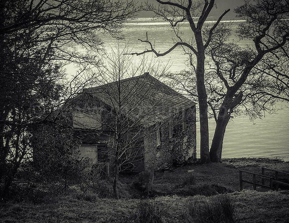 An Old House by a Lake