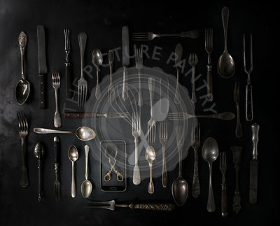 Set of vintage cutlery