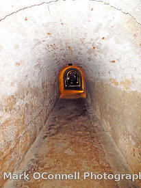Castillo San Christobal tunnels
