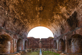 Large Parade Magazine at Fort Jefferson in Dry Tortugas National Park
