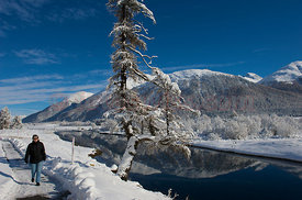 Winter in the Engadin Valley
