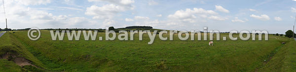13th August, 2015.A panorama of The Curragh, Co.Kildare constructed from several photographs using Adobe Photoshop...Photo:Ba...