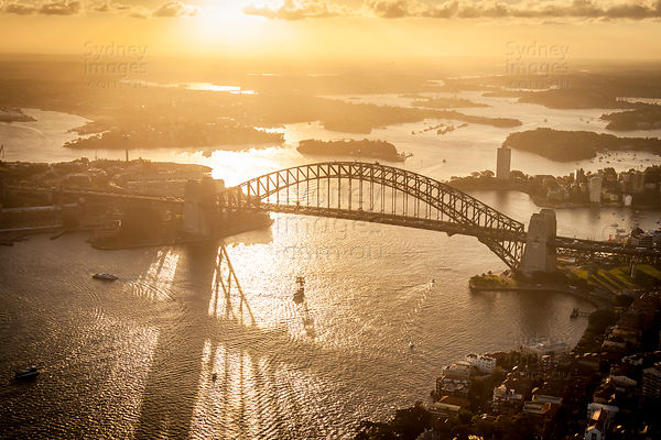 Harbour Bridge, Sunset