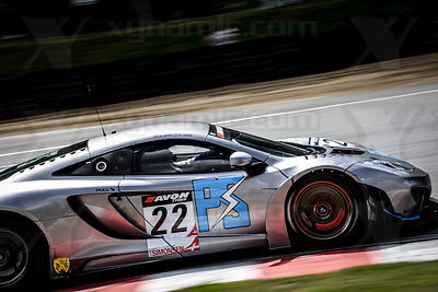 22 David Jones / Godfrey Jones Preci Spark McLaren MP412C GT3
