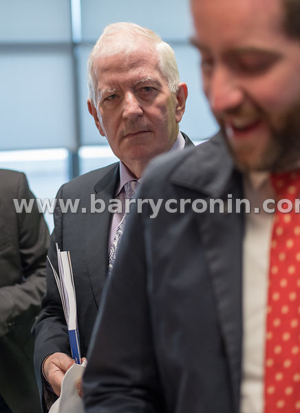 21st September, 2017.Ryanair AGM at Ryanair HQ, Swords. Pictured is former Minister Charlie McCreevey.Photo: BARRY CRONIN/www...