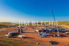 Frac Job and Water Storage