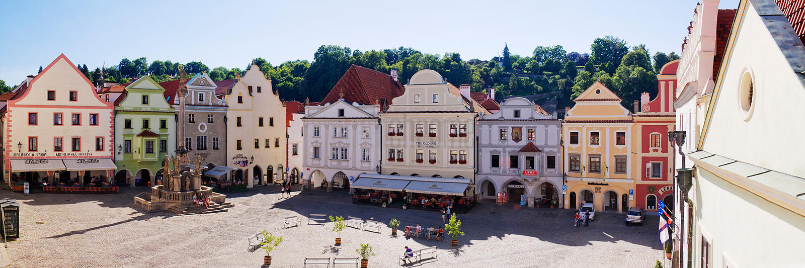 Buildings Around the  Town Square
