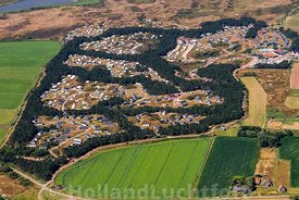 Texel - Luchtfoto camping Loodsmansduin