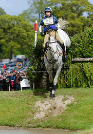 Louisa Milne Home and KING EIDER - Cross Country phase, Mitsubishi Motors Badminton Horse Trials 2014
