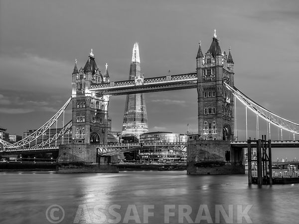 Tower Bridge and the Shard
