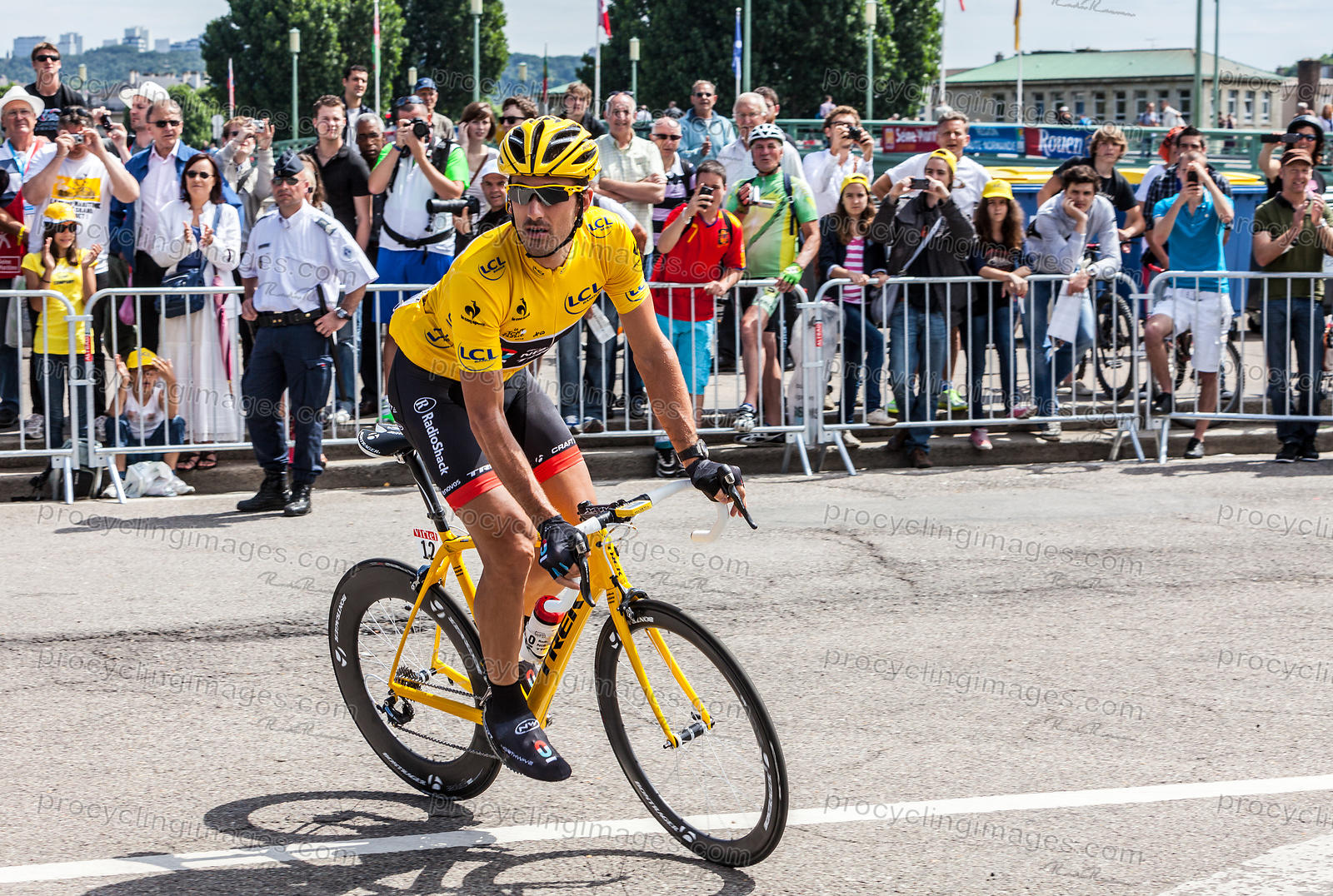 Yellow Jersey, Fabian Cancellara - Tour de France 2012