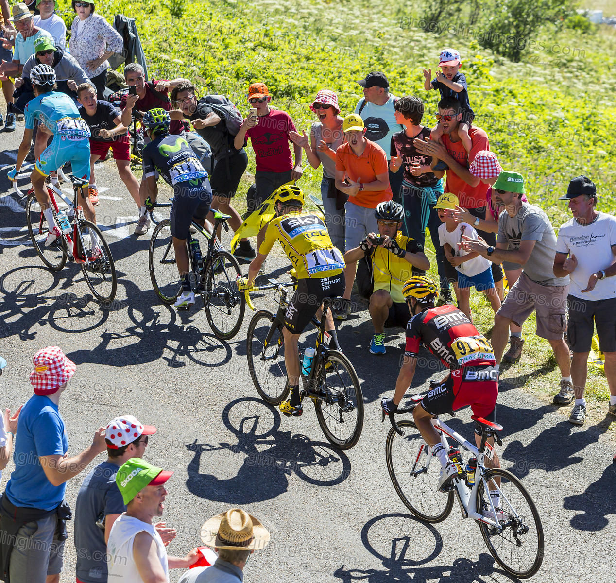 The Fight for Yellow - Tour de France 2016