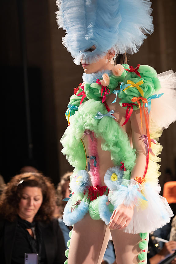 London Fashion Week Spring Summer 2019  - Pam Hogg