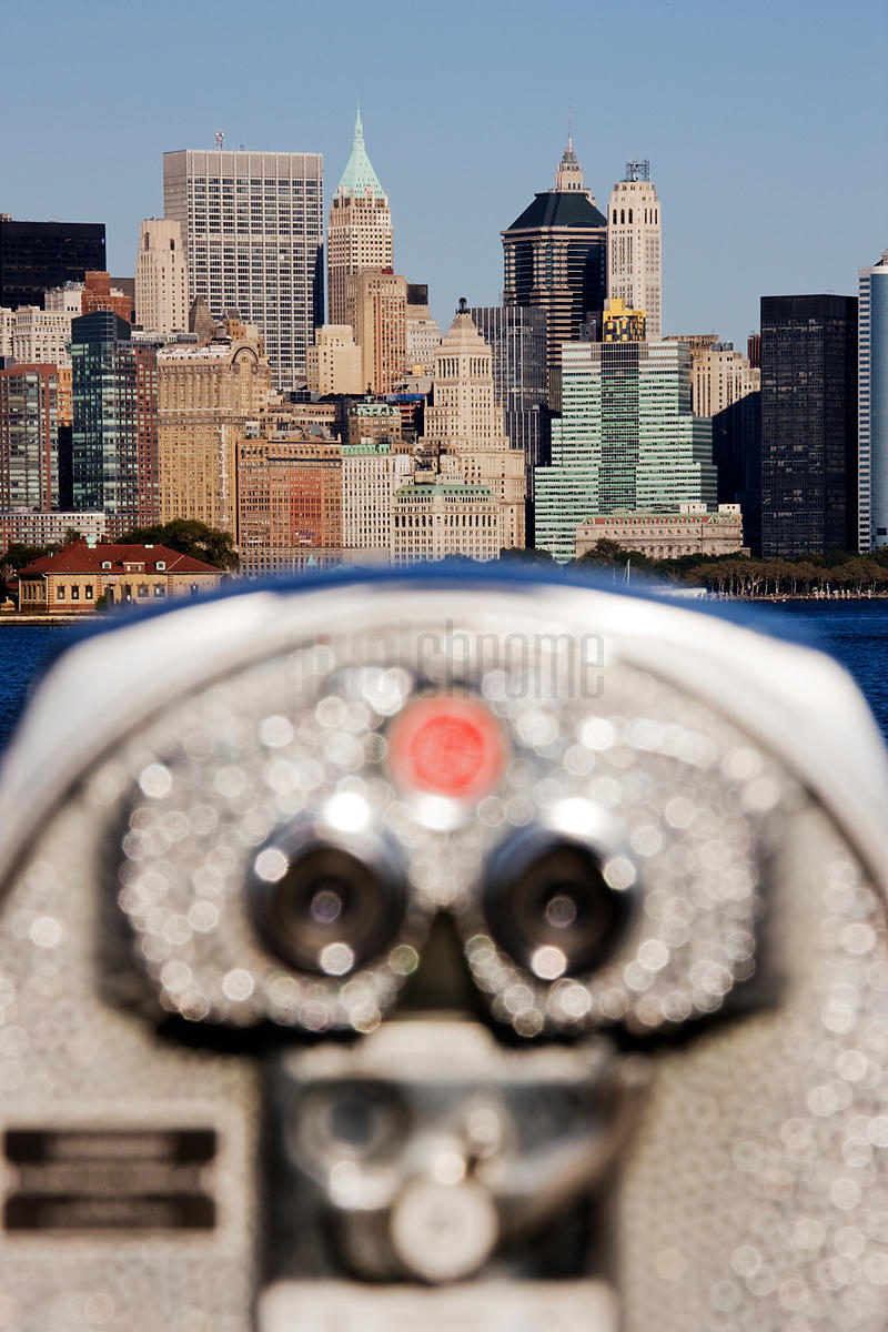 Distance Viewer and City Skyline