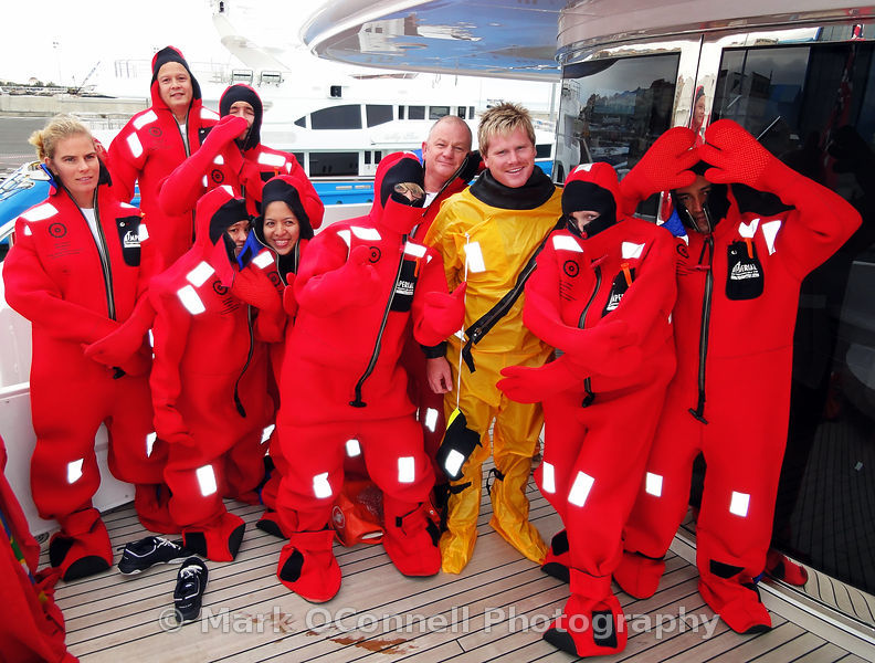 Elysium sea survival drill